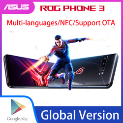 Asus ROG 3 5G глобальная версия игрового телефона 6,59 дюйм12 Гб ОЗУ 512 Гб ПЗУ Snapdragon865 Plus 6000 мАч 144 Гц FHD + NFC ROG3