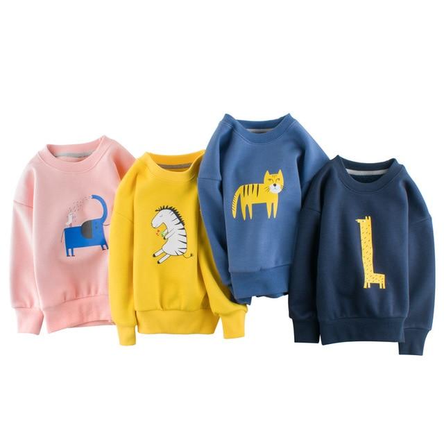27kid Sweatshirts Baby Boys Girls Cotton Kids  Children Clothes Long Sleeve Sweatshirts Toddler Sportswear Child's Clothing 1