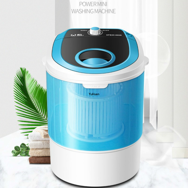 Single Barrel Semi-automatic Mini Washing Machine  Portable Washing Machine  Washer And Dryer  Washing Machine
