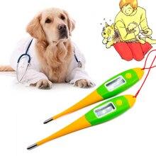 Цифровой термометр для домашних любимцев собак кошек Свиней Животных электронный термометр без ртути профессиональный медицинский инструмент ветеринарные принадлежности