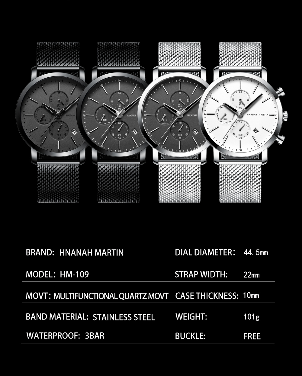 Men Watche Top Brand Fashion multifunction small dial Stainless Steel Mesh business Waterproof Wristwatches Relogio Masculino H56e6af2dd2324af088d302e88c5f0846z
