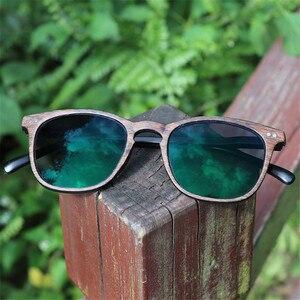 Image 2 - NYWOOH Photochromic Finished Myopia Glasses Women Men Imitation Wood Frame Student 1.56 Aspherical Lens Shortsighted Eyeglasses