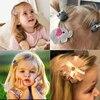 8Pcs hair clip set Girl Cute Hair bands Hair Accessories Bow Flower animal headwear Hairpins cartoon hair band Hairpin Headdress 2
