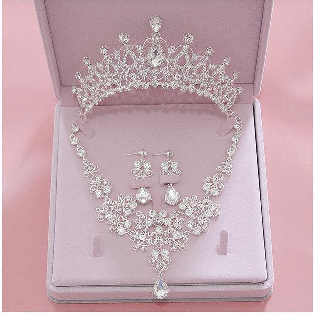 Ensemble bijoux mariage Neyla