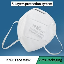 10Pcs/Set 5Layer Protection KN95 Mask Pm2.5 Disposable Elastic Professional Masks In Stock Send Out Within 24 Hours