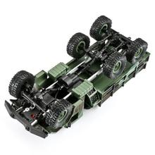 Грузовик камуфляжная игрушка противоударный подарок радиоуправляемая модель машины дети внедорожник четыре канала светодиодный свет Дети моделирование