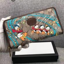 Disney wallet women Cartoon Donald Duck Dame Portemonnee Messenger Bag Lady Portemonnee Kaarthouder Grote Boodschappentas