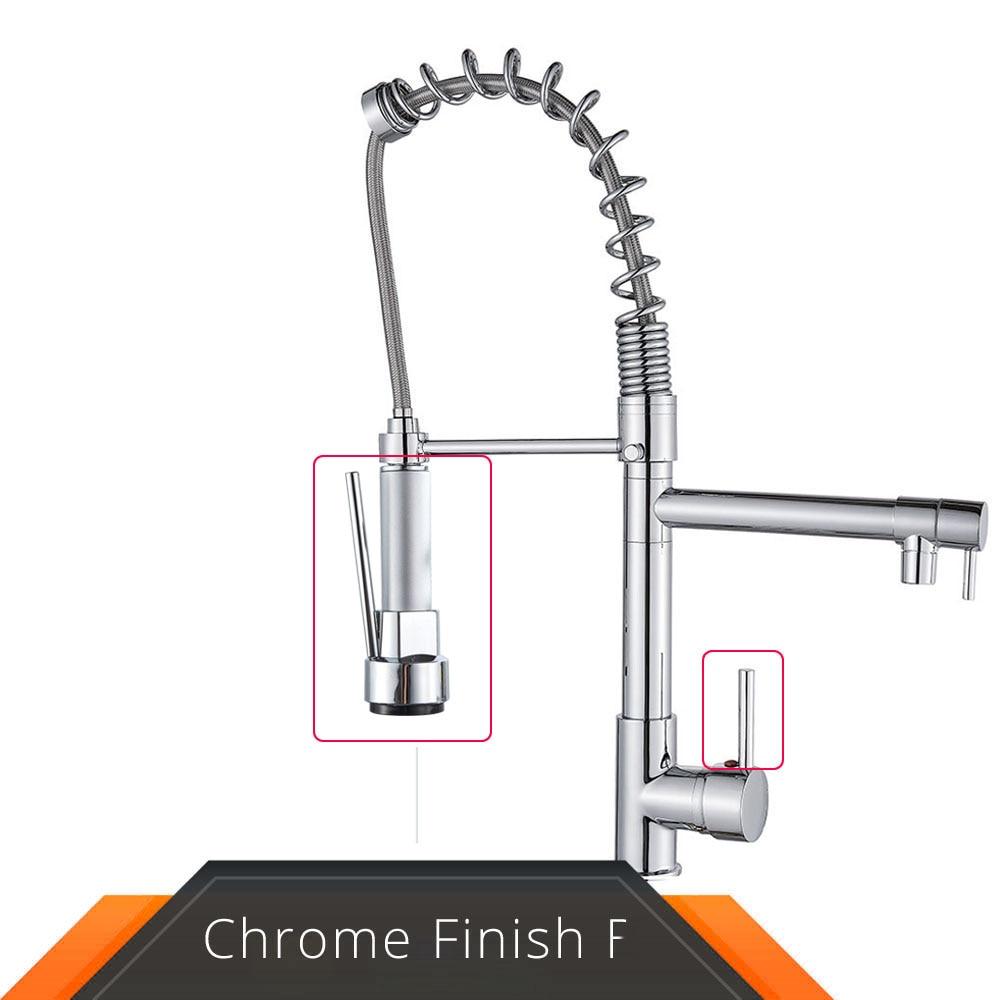 Chrome Grey Spout