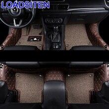 Interior Modified Automobile Accessories Styling Auto Protector Decoration Parts Carpet Car Floor Mats FOR Mazda Axela