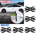 4 шт., декоративные резиновые наклейки на автомобильные зеркала заднего вида для Chevrolet Spark Cruze Lacetti Malibu Aveo