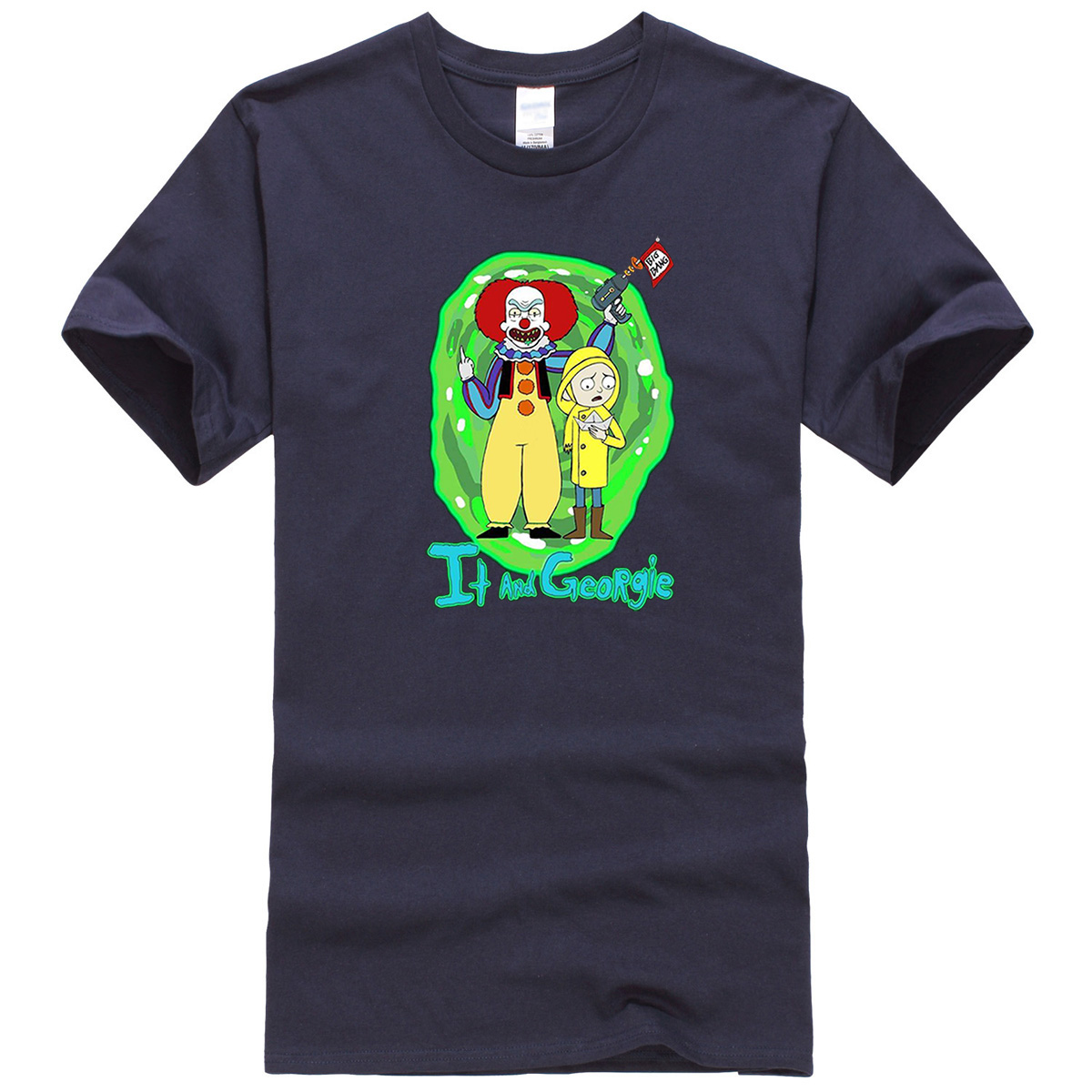 Funny Rick And Morty /_ IT T-Shirt Tee S-6XL Hot New Trend US 2019