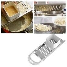 Паста машина руководство лапши Spaetzle чайник из нержавеющей стали лезвия клецки машина паста инструменты для приготовления пищи Кухонные аксессуары