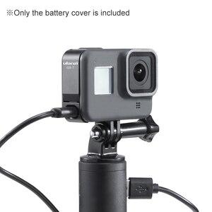Image 5 - Ulanzi G8 7 アクションカメラバッテリーカバー蓋取り外し可能タイプ C ポートアダプタの充電アルミ合金移動プロヒーロー黒 8
