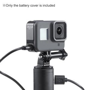 Image 5 - Ulanzi G8 7 عمل كاميرا غطاء البطارية غطاء قابل للإزالة Type C شحن مهايئ منفذ سبائك الألومنيوم ل GoPro بطل الأسود 8