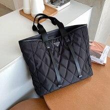 Grands sacs à bandoulière pour femmes, Sac à main de marque, tendance, noir, hiver, 2020