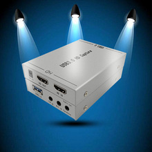 Video-Capture-Card Audio-Input Live-Streaming HDMI To 1080P USB Mic Usb-3.0