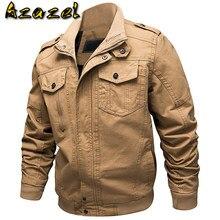 Adı marka erkek ceket ve ceket Safari stil rahat erkek taktik ceketler mont XXXXXXL bombacı ceket erkek paltolar 2019 A645