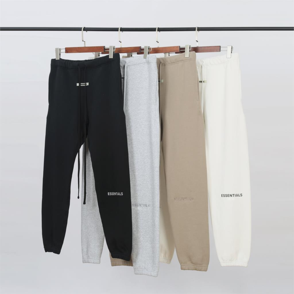 2019 Fog Essentials Collection 3M Reflection Logo Printed Women Men Jogger Pants Sweatpants Hiphop Streetwear Men Pants Joggers