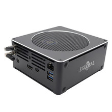 Eglobal superior computador de jogos intel core i9 i7 8850 h 6 núcleo 12 threads 2 * m.2 nvme ssd + 1*2.5 sata mini pc win10 pro hdmi ac wifi bt(China)