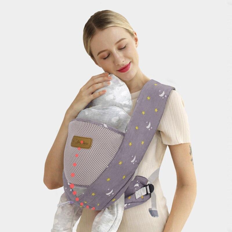 0-36M Portable portabebés ergonómico portabebés bebé Bebé Canguro ergonómico Sling para recién nacidos cadera de bebé asiento Bandolera de hombro para hombre JEEP BULUO, riñonera de pecho multifunción pequeña, riñonera de cintura para hombre, nueva moda, bandolera informal