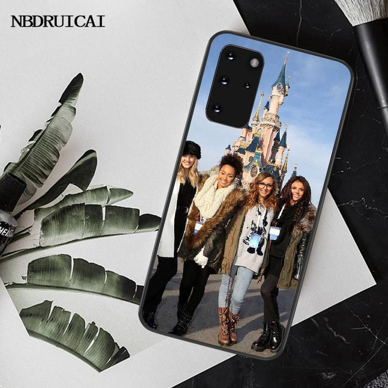 NBDRUICAI Little Mix Phone Case for Samsung S20 plus Ultra S6 S7 edge S8 S9 plus S10 5G