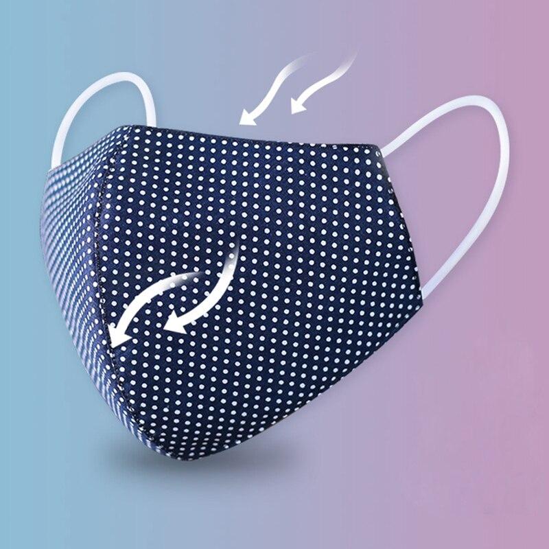 Cotton Anti Dust Mask Unisex PM2.5 Washable Face Masks Reusable Anti Haze Mouth Masks Safe Breath Warm Mask