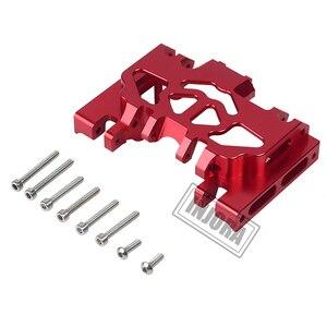 Image 4 - INJORA 1PCS אלומיניום מתכת תיבת הילוכים הר מחזיק עבור 1/10 RC Crawler TRAXXAS TRX4 TRX 4