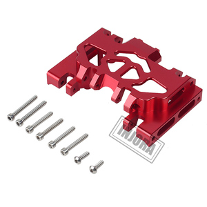 Image 4 - INJORA 1PCS Aluminum Metal Gearbox Mount Holder for 1/10 RC Crawler TRAXXAS TRX4 TRX 4