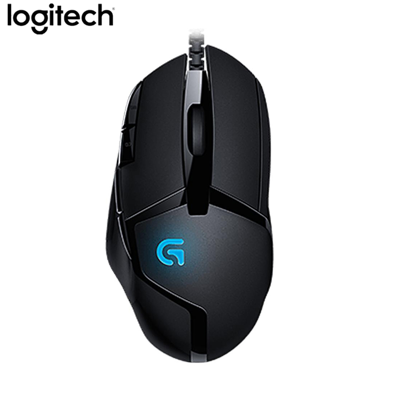 Logitech G402 Hyperion Fury FPS Wired Gaming Mouse 8 Programmable Keys 4000DPI High Speed For Gamer PC / Laptop