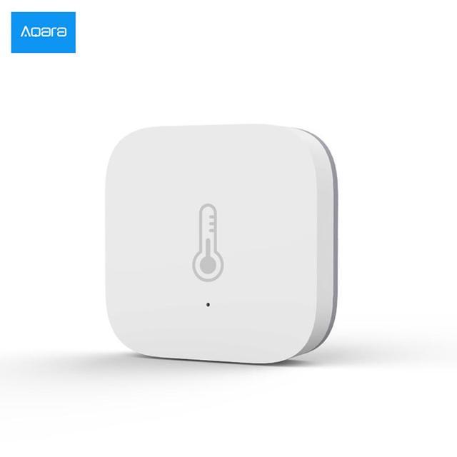 Aqara Smart Air Pressure Temperature Humidity Environment Sensor Work With Android IOS APP Control Industrial Sensor In Stock