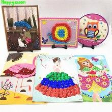 Happyxuan 6 Designs DIY Paper Arts and Crafts Kits Children Creativity Handicrafts Girls Kindergarten Education Toys 5-10 years young children and the arts nurturing imagination and creativity