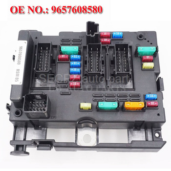 Fuse Box Unit Assembly RELAY for CITROEN C3 C5 C8 XSARA PICASSO PEUGEOT 206 CABRIO 307 CABRIO 406 COUPE 807 9657608580