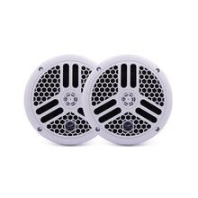 6.5 inch 2 Way 240Watts Marine Waterproof Speakers For ATV UTV SPA Golf Cart Boat SPA Motorcycle UV-Proof Outdoor Music Speakers