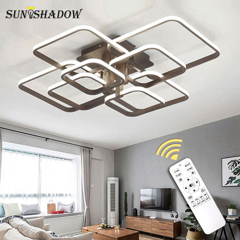 Modern LED Ceiling Light Black White Chandeliers Ceiling Lamp LED Light Fixtures Living room Bedroom Dining Modern LED Ceiling Light Black&White Chandeliers Ceiling Lamp LED Light Fixtures Living room Bedroom Dining room Kitchen Lustres