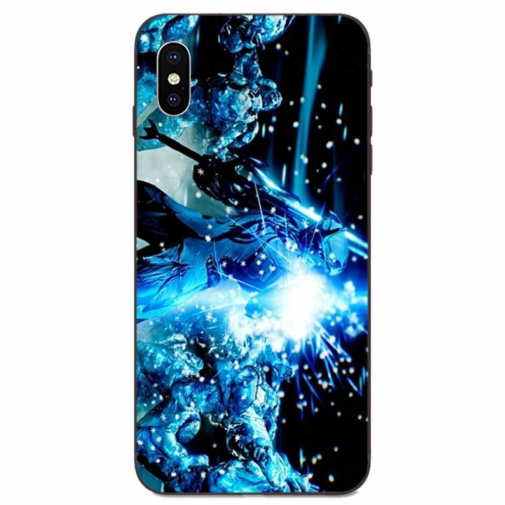 Soft Case Coque Cover Warframe Excalibur For Apple iPhone 11 X XS ...