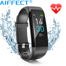 AIFFECT Smart Watch Sports Fitness Tracker With Heart rate Monitor Blood Pressure Bluetooth GPS Waterproof IP68 For IOS Android цена