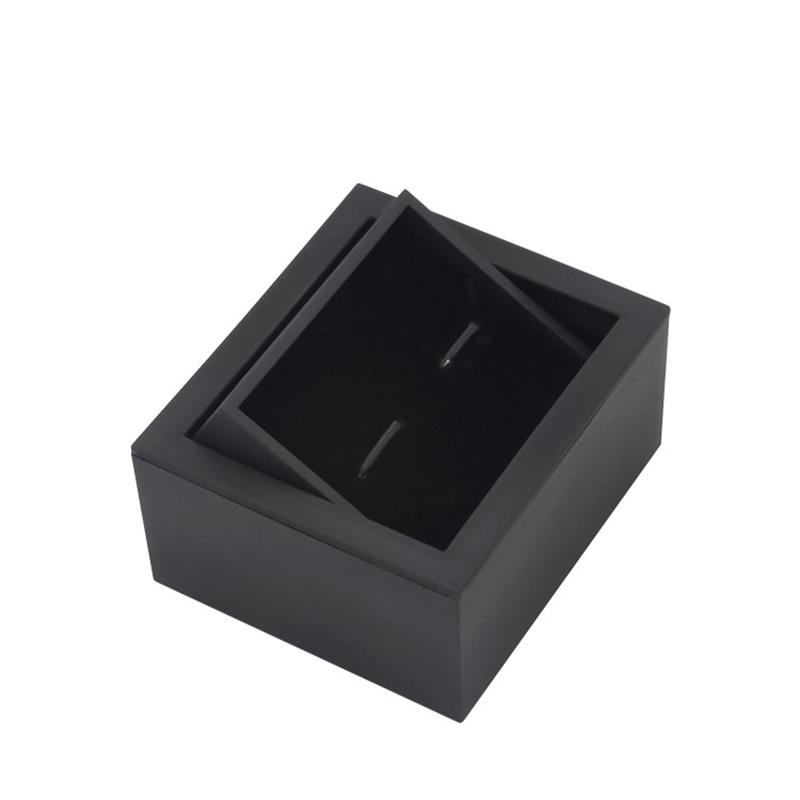 Высококачественная Поворотная коробка для запонок 360, запонки, подарочные коробки, упаковочная коробка для запонок, оптовая продажа с фабри...