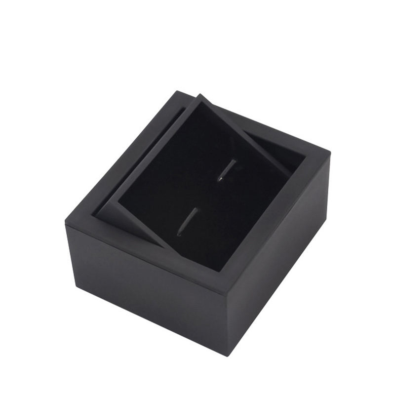 High Quality Rotatable 360 Cufflinks Box Customizable Logo Cuff Links Gift Boxes Cufflink Packing Box Wholesale Factory Selling