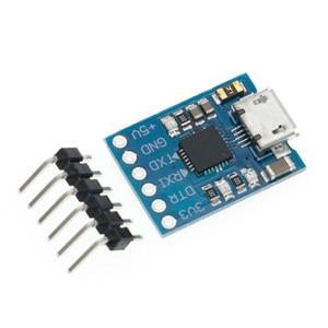 Image 5 - Módulo USB A TTL serial UART, cable de descarga STC, actualización de línea de pincel, tipo A, Micro USB, 5 pines y 6 pines, 50 Uds., CP2102
