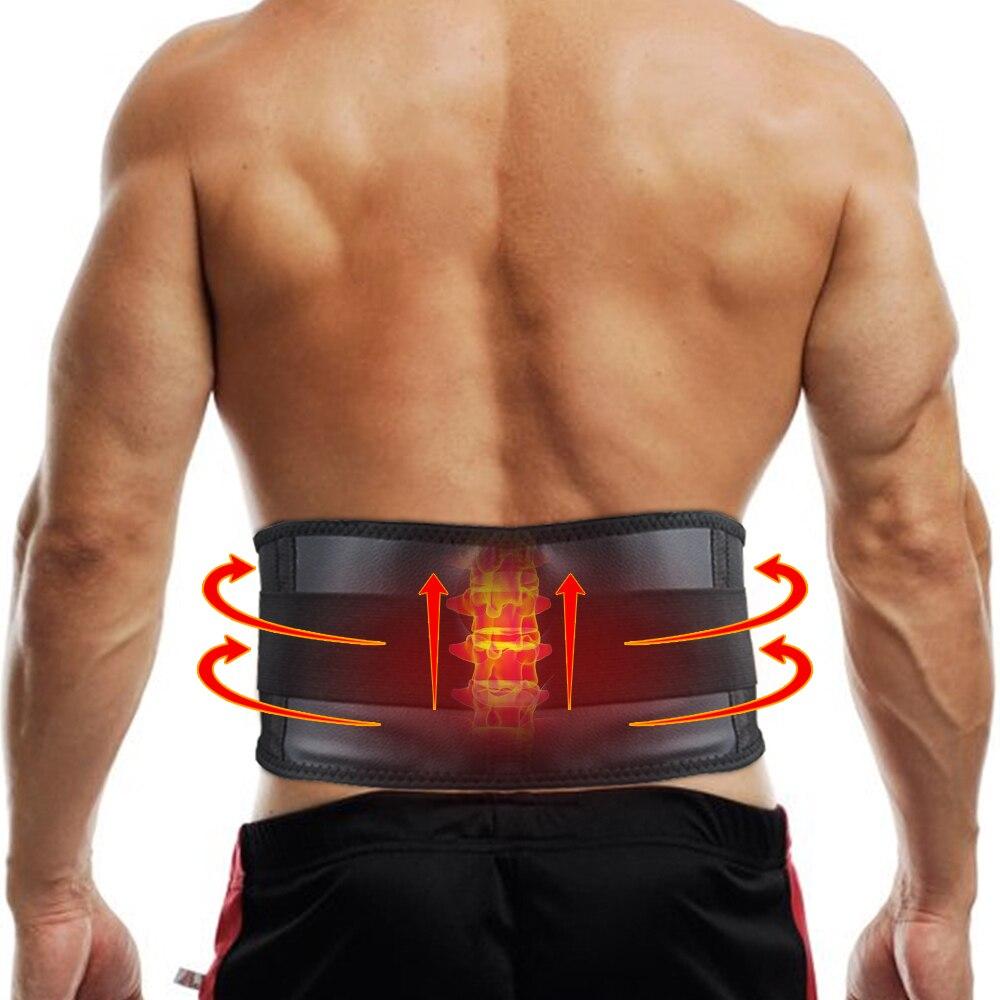 Adjustable Waist Tourmaline Self Heating Magnetic Therapy Back Waist Support Belt Lumbar Brace