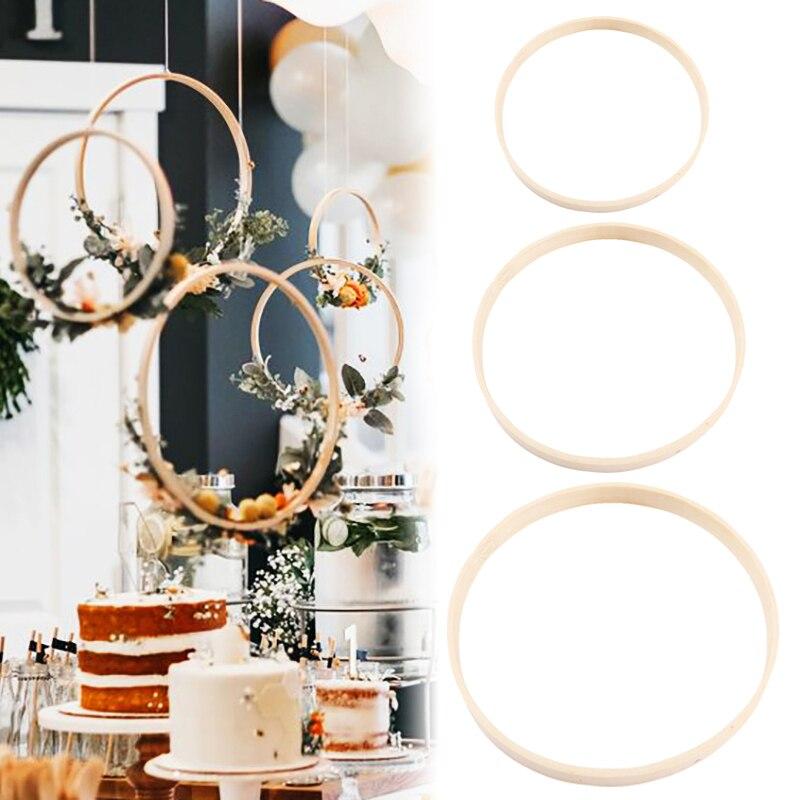 10 шт./компл. деревянная рамка обод кольцо пяльцы инструмент Бамбука круг для вышивка крестиком ручной DIY Искусство Ремесло Швейные инструме...