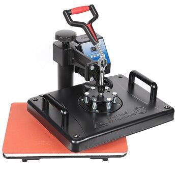 High Pressure Dual-display Digital Manual T-shirt Heat Press Machine EU AU US Plug T-shirt Heat Press Machine