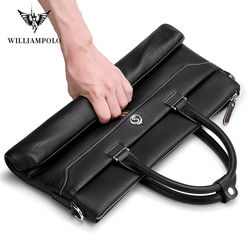 Williampolo Fashion Unisex Solid Waterproof Laptop Computer Bag Breifcase Sleeve Case Bag #193043