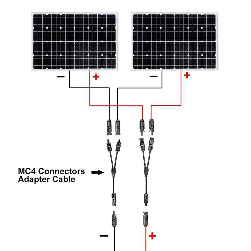 4 זוג MC4 שמש Y-מחבר עם כבל אורך 30Cm Mc 4 M/F תקע שקע תקעים חיבור כבל מחברים כבל מקביל