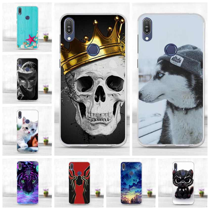 "5.99"" for Capa ASUS Zenfone Max Pro M1 ZB602KL Case Back Cover for ASUS Max Pro M1 ZB601KL ZB 602KL Case Silicone Protective Bag"