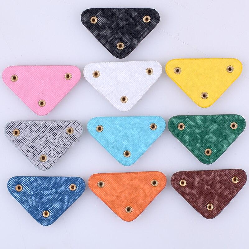 Брендовые треугольные нашивки для одежды, аппликации для завязывания волос, сделай сам, под заказ, фирменный логотип, блестящая нашивка, зна...