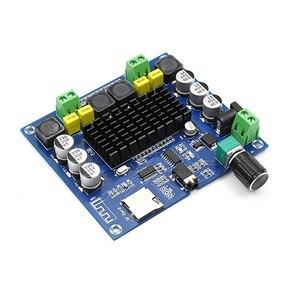 Image 3 - Bluetooth 5.0 100W + 100W TPA3116 Âm Thanh Kỹ Thuật Số Power Amp Âm Thanh Hifi Kênh Đôi Class D Stereo AUX thẻ TF Bảng Mạch Khuếch Đại