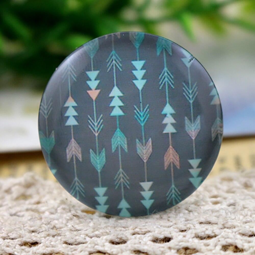 3pcs 30mm Handmade Photo Glass Cabochons (Modern Girl) (I5-18)
