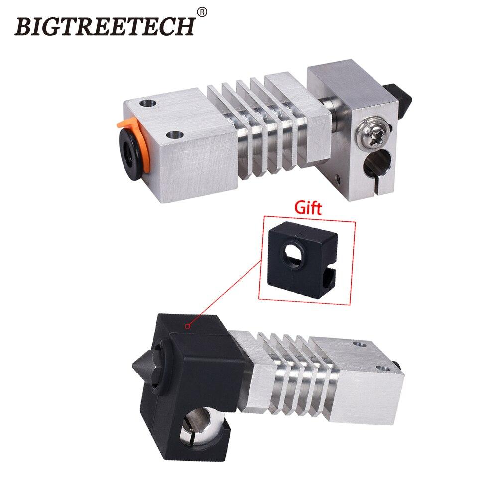 Upgrade CR10S PRO Hotend Kit Aluminum Heatsink Titanium Swiss MK8 Nozzle Heat Break For CR-10S Hotend 3D Printer Parts