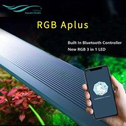 Chihiros RGB A Plus серия со встроенным Bluetooth контроллером 3 в 1 RGB LED Sunrise Sunset Plant Grow аквариумная лампа